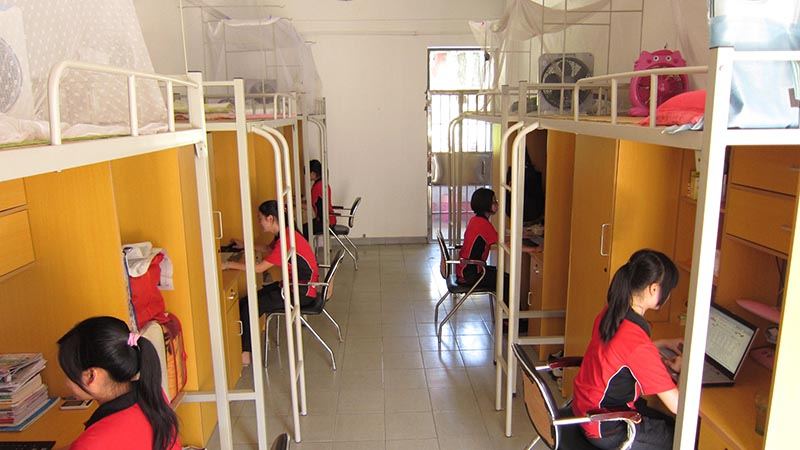 Clean dormitories at STAR