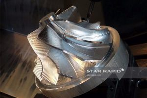Image of CNC milled rotor at Star Rapid