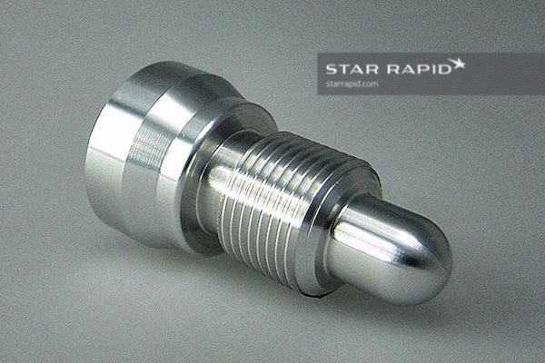 CNC machined turned parts image at Star Rapid