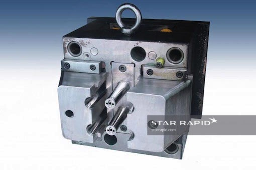 injection mold with foot care