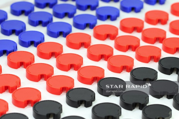 Anodized aluminum on ABS plastic