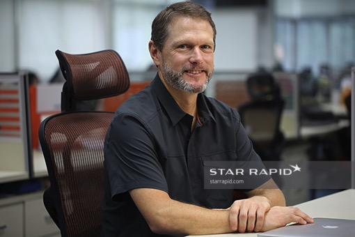 Steve Edington, Star Rapid's US Business Development