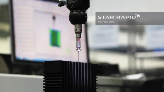 Nikon CMM machine in Star Rapid QC lab