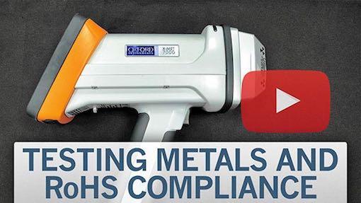 Oxford Instruments XRF test video, Star Rapid's QC lab
