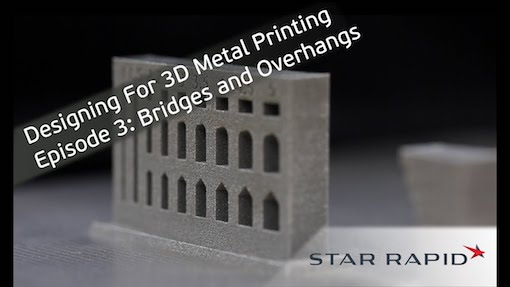 design for 3d metal printing