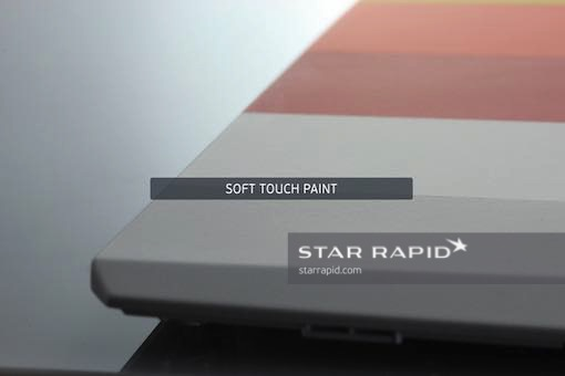 Soft touch paint