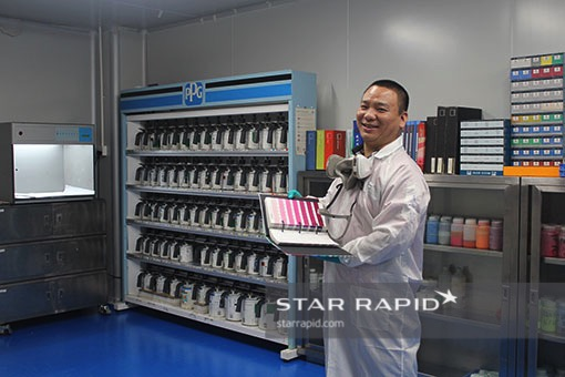 Star Rapid paint preparation room, finishing services