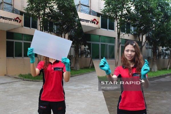Vapor Polishing Polycarbonate Plastic