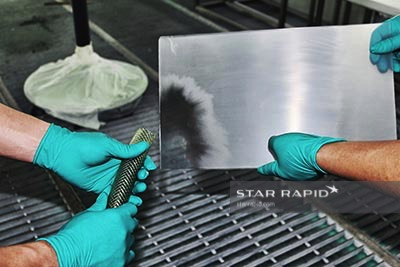 Vapor Polishing Process, Star Rapid finishing services