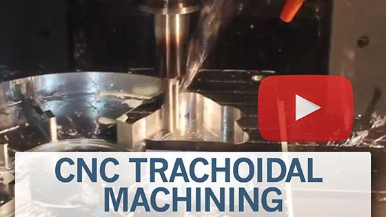 CNC Trachoidal machining