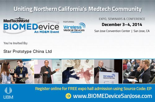 STAR exhibits at BIOMEDevice 2014 in San Jose