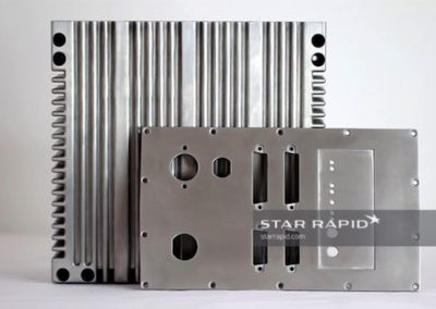 Aluminum Housing for Communications Technology Made with Pressure Die Casting