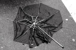 Broken Umbrella | Image Create: weirdwiltshire