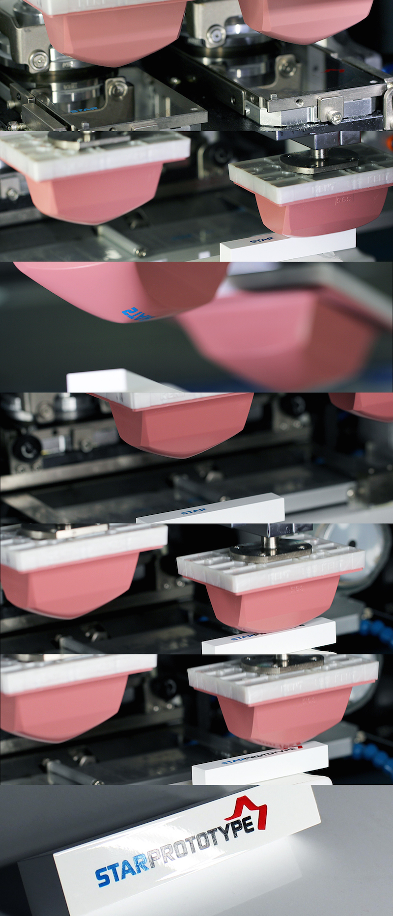 Pad Printing is a fast and reliable solution - Star Rapid