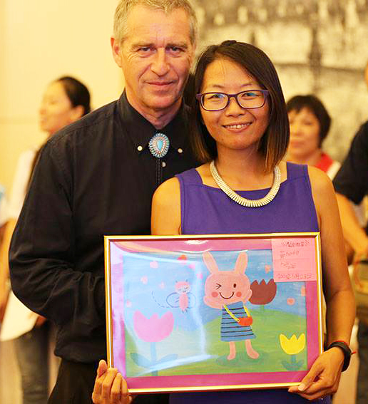 """Star Rapid Joins The 2015 """"Sunshine Is Beside You"""" Charity Party"""