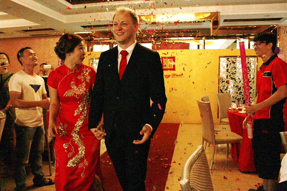The Wedding Of Marcel Gundlach And Onita Liu