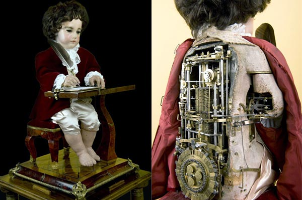 Early automata by Jaquet Droz
