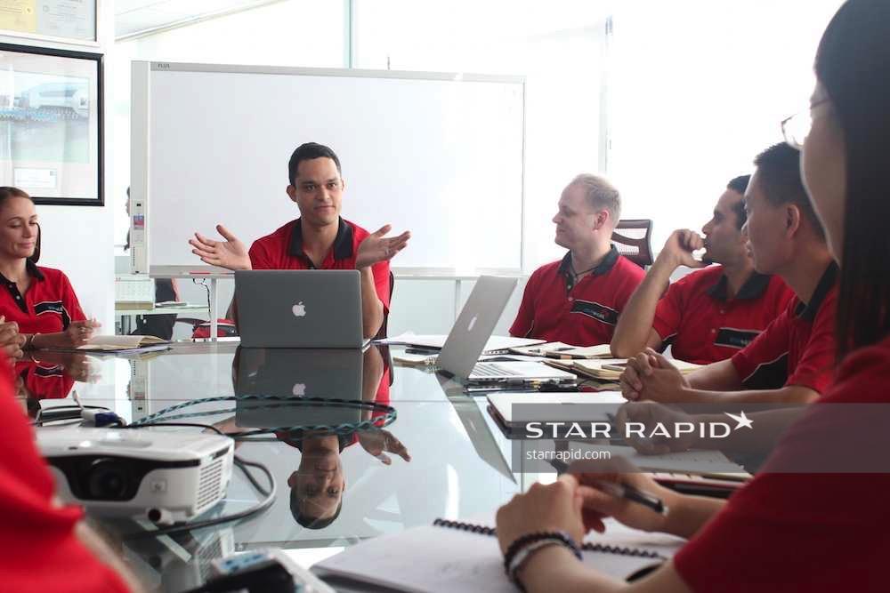 International Team at Star Rapid