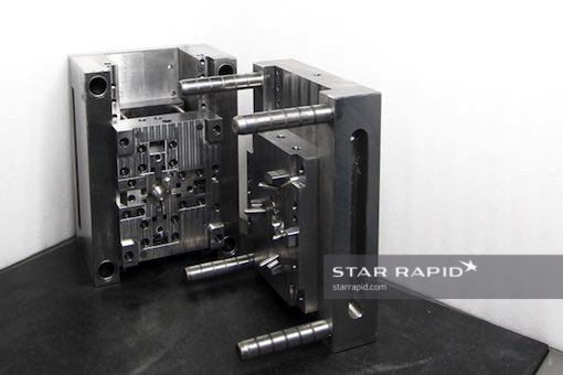 NAK80 injection mold tooling at Star Rapid