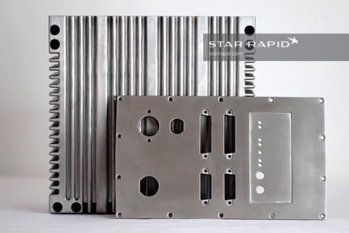 Image of pressure die cast housing at Star Rapid