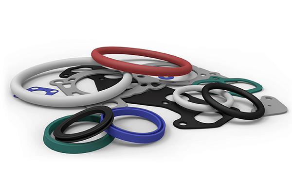 Image of compression molded O-rings