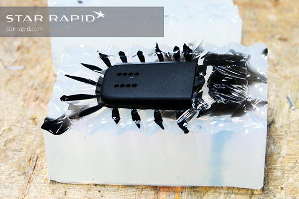 Image of vacuum cast case cover.