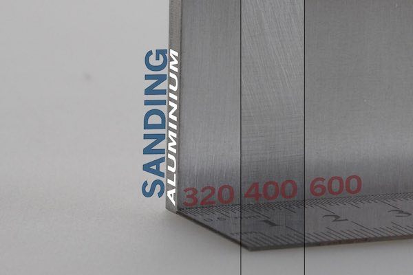 Aluiminium Sanding Processes