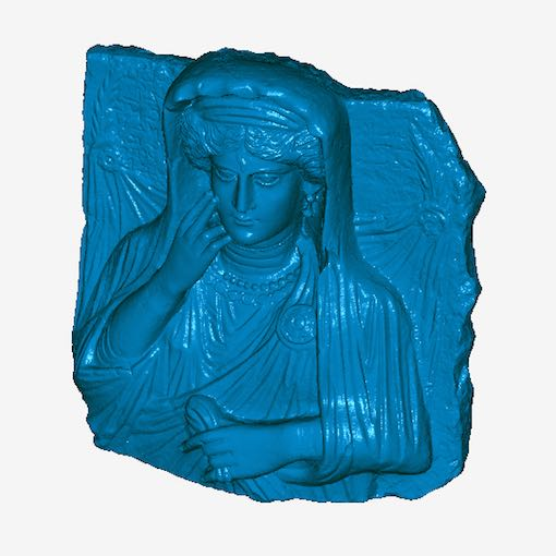 3D scan of Palmyra relief