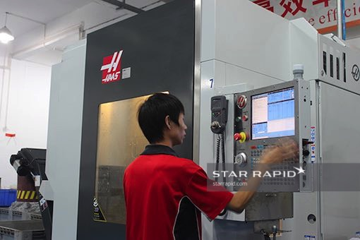 HAAS machine programming