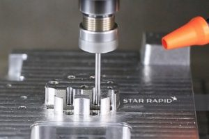 CNC Machining of plastic injection mold tool at Star Rapid for Snuffmaster