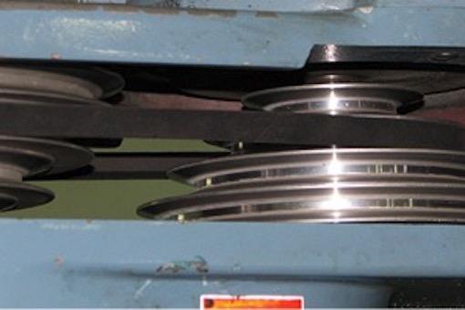 lathe pulley machine