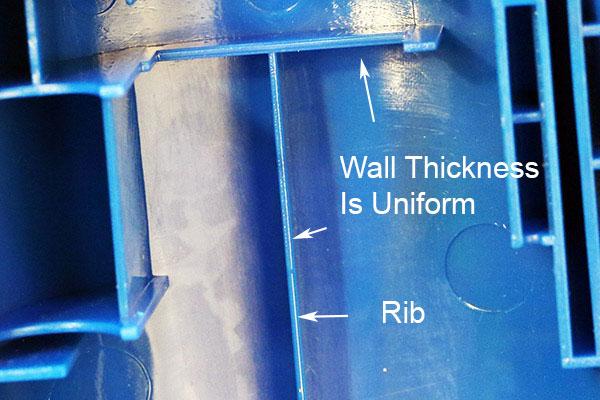 Uniform wall thickness design, PIM at Star Rapid