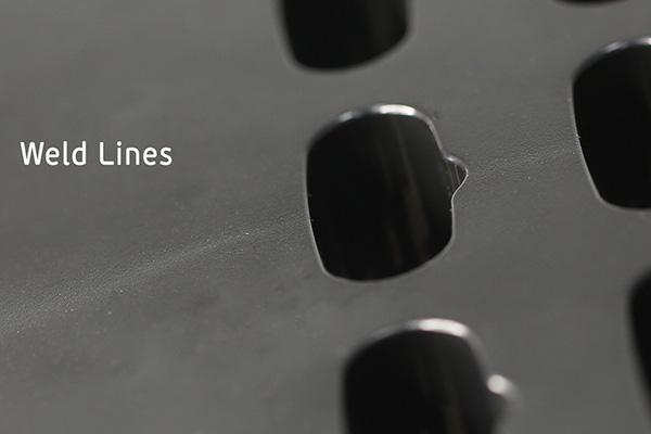 Image of weld lines, Star Rapid