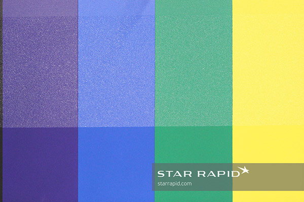 Template of surface textures at Star Rapid