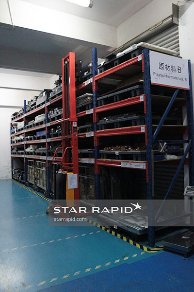 Approved material awaiting manufacture at Star Rapid