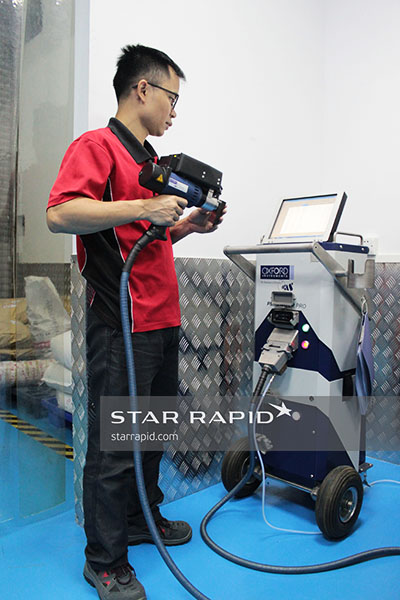 Star Rapid testing with our Oxford Instruments OES