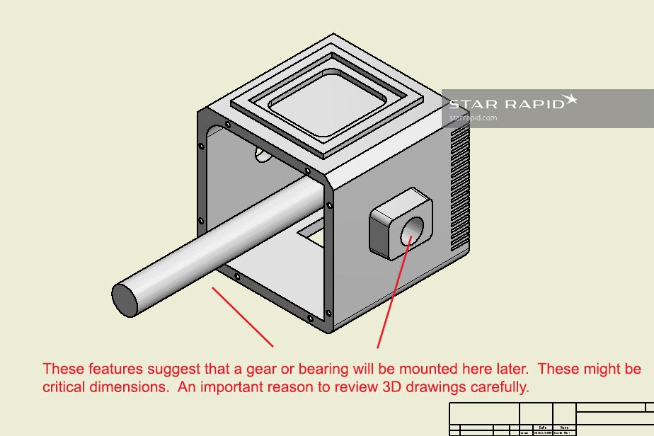 Understanding a critical dimension in a 3D CAD model