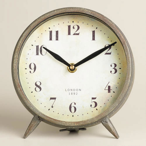 galvanized tin coating on alarm clock