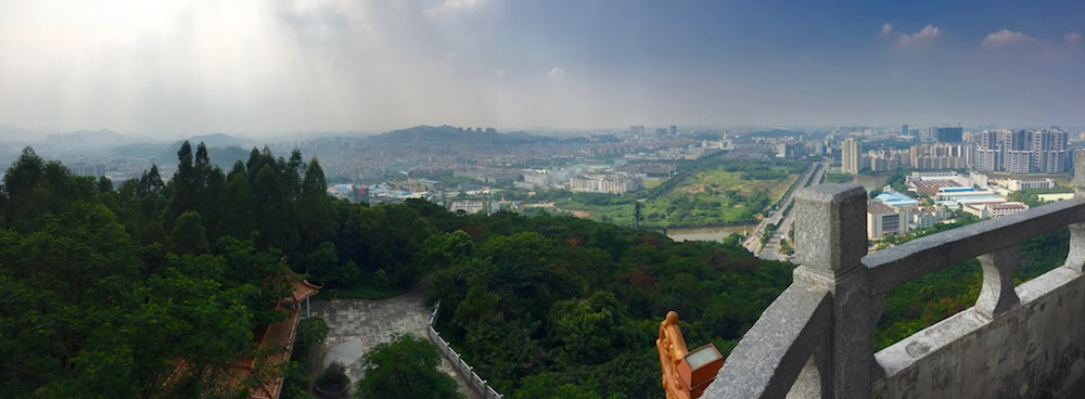 View from pagoda near Star Rapid