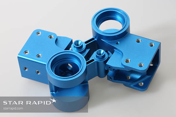 CNC machined part made at Star Rapid for IHMC