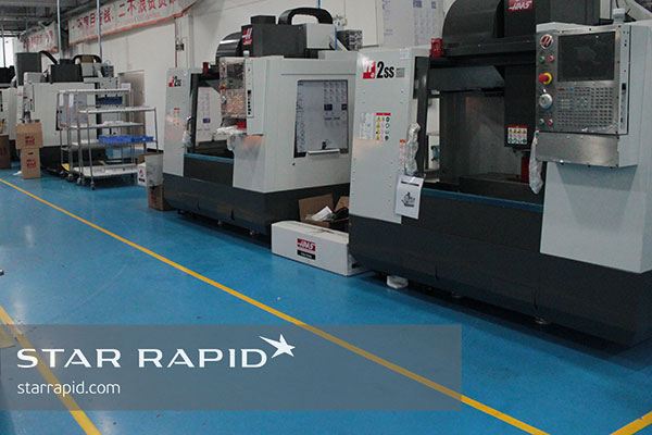 New Haas VF-2 CNC machines at Star Rapid
