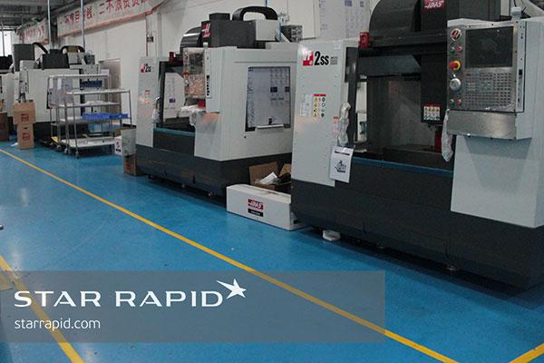 New Haas VF-2 CNC machines at Star Rapid