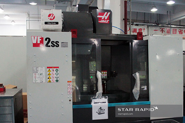 Haas VF2SS being used for training at Star Rapid