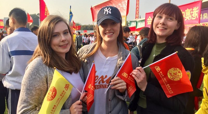 Star Rapid Employees at Zhongshan Charity Parade