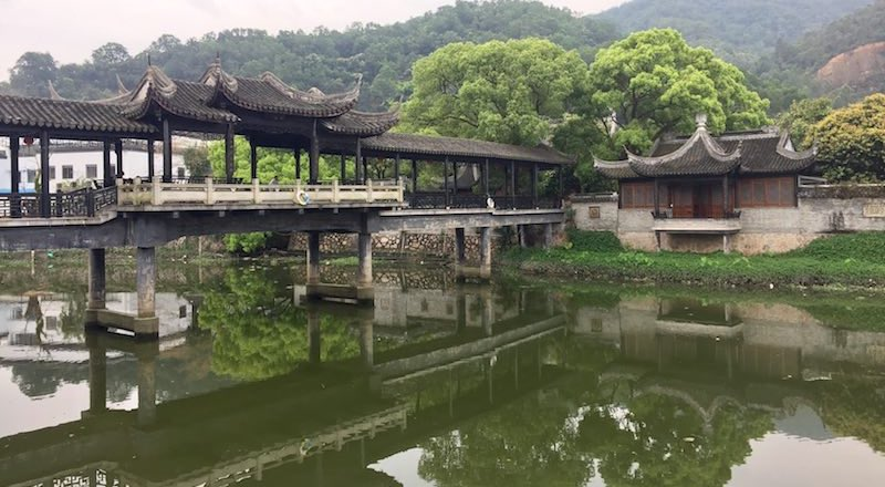 Scenic View of River at Zhan Park