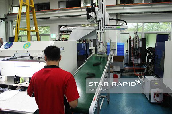Redstone 900 Robotic Arm at Star Rapid