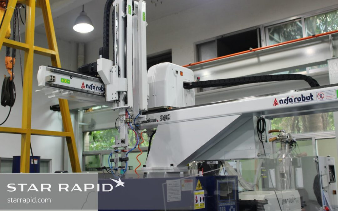 Star Rapid Gets Faster Using Production Robot
