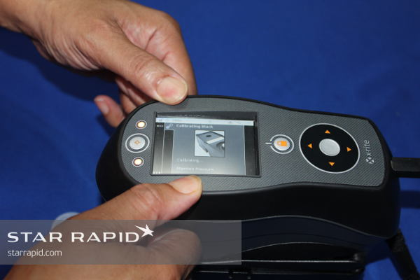 X-Rite Color Tester at Star Rapid