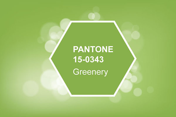 Pantone Color of the Year, Greenery