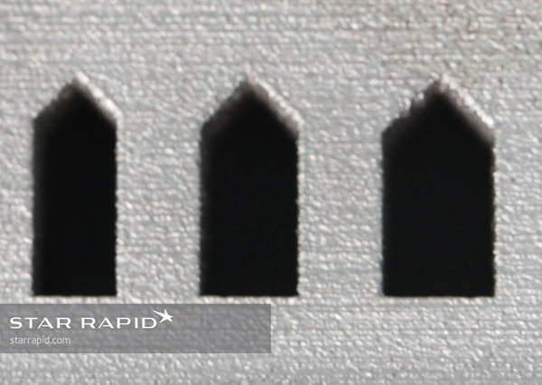 Star Rapid 3D printing design template for arches
